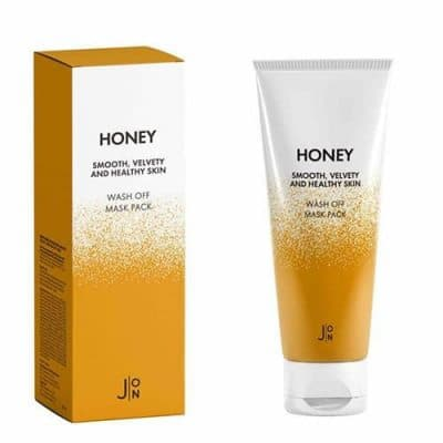J:On Мед Маска для лица Honey Smooth Velvety and Healthy Skin Wash Off Mask Pack